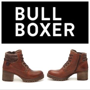 New $120 Bullboxer Cassie Leather Bootie